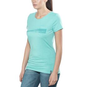 Meru Pylea - T-shirt manches courtes Femme - turquoise